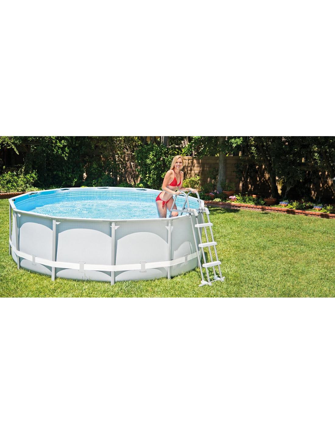 Echelle piscine intex conceptions de maison for Echelle de piscine