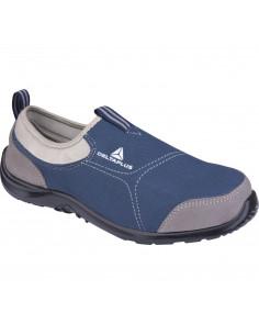 DELTAPLUS Chaussures basse MIAMI S1P gris-bleu marine