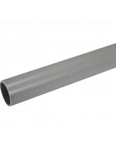 Tube d'évacuation PVC nf d50mm l1m