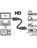KYOSTAR cordon HDMI MALE / HDMI MALE 1,5m