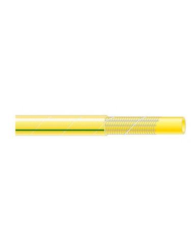 RIBIMEX Tuyau d'arrosage tricoté antivrille TUBI'ROLL jaune 25 m
