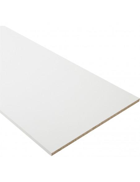 Tablette Mélaminé blanc