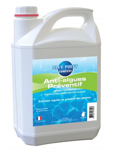 Hydrapro anti algues pr ventif liquide 5l hyper brico for Anti algues piscine