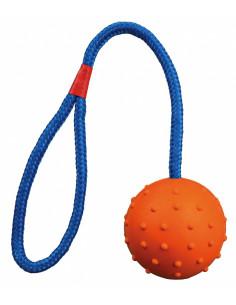 TRIXIE Balle sur corde, caoutchouc naturel d6-30 cm