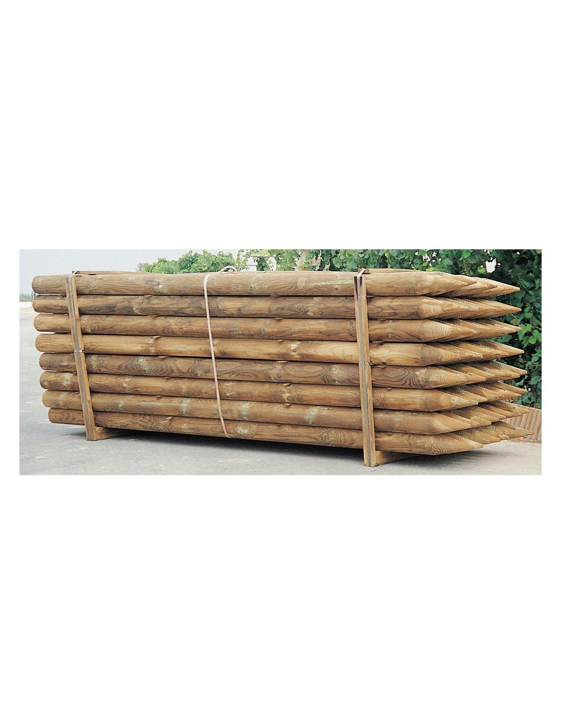 Catral poteau bois hyper brico for Poteau bois exterieur