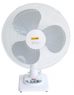 AITOPRO Ventilateur table blanc ø40cm