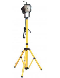 Projecteur de chantier halogène télescopique 500W H.150cm