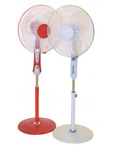 Ventilateur sur pied rouge ø40cm
