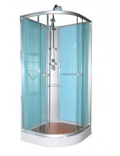 Cabine de douche hydromassage 90 x 90 x 200 cm