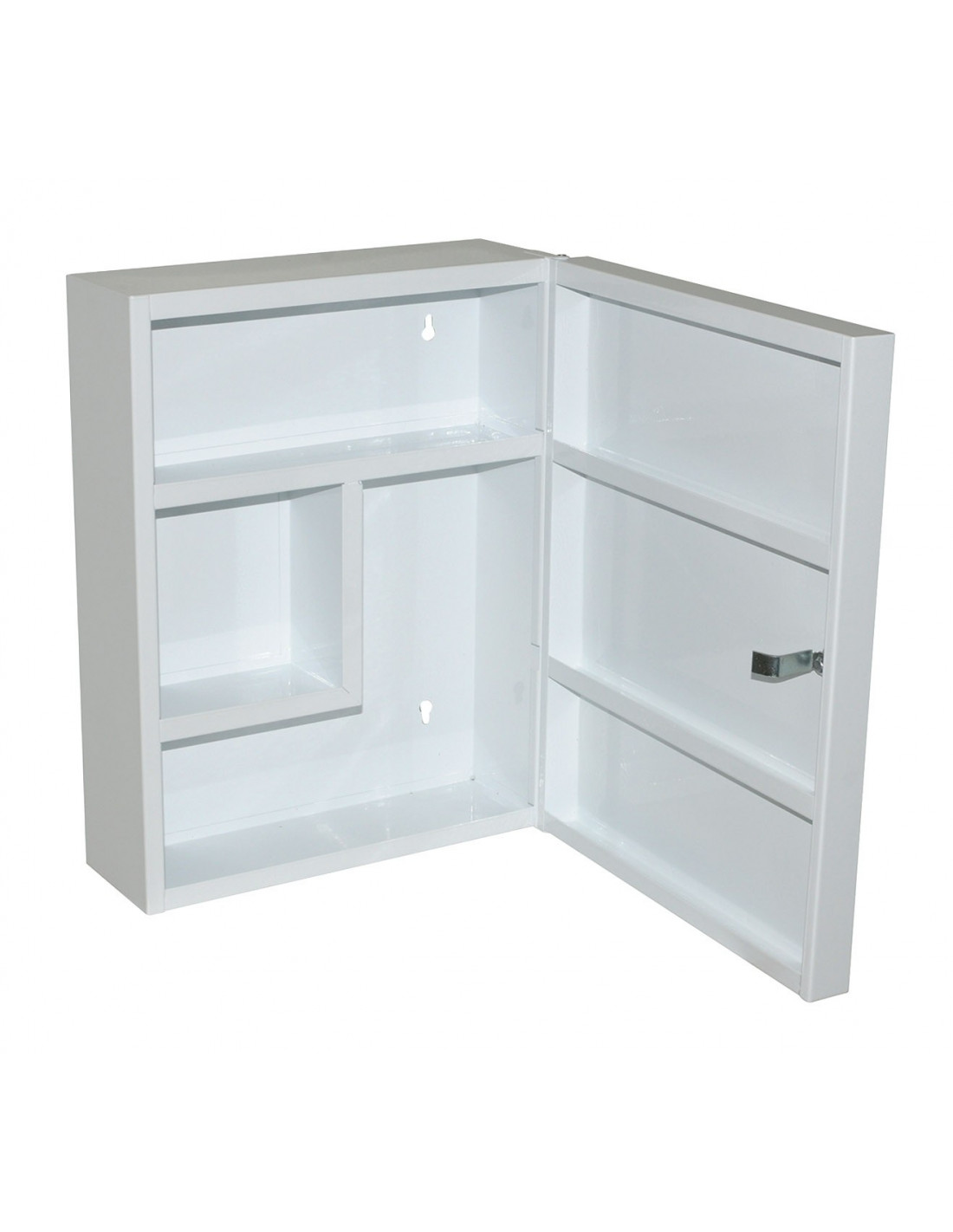 galedo armoire pharmacie m tal blanc hyper brico. Black Bedroom Furniture Sets. Home Design Ideas