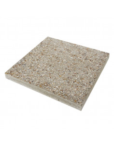 STRADAL Dalle gravillonnée gros grains safran 40 x 40 cm