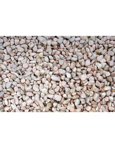 Gravier naturel rose sac de 20 kg