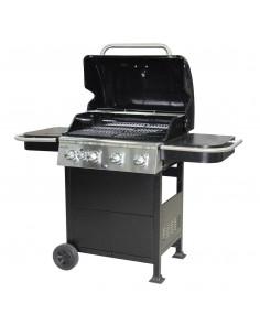 Barbecue noir 4 brûleurs 520squin