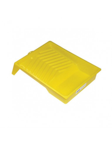 SAVY Bac à peinture plat jaune