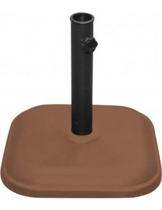 FORNORD Pied de parasol ciment 11kg terracotta