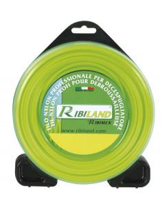 RIBIMEX Fil débroussailleuse carré nylon d3mm-50m