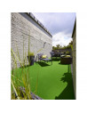 BEAULIEU Moquette gazon artificiel GARDEN 0600 GREEN 4m