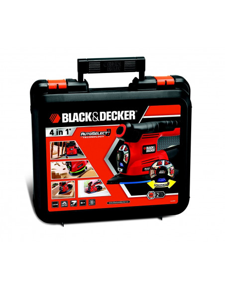 Black /& Decker ka280k démarrez 4-in-1 Multi Meuleuse meuleuse 220 w dans la valise