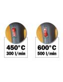 RIBIMEX Décapeur thermique 2000w