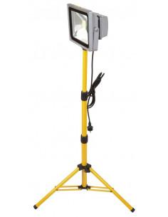 RIBIMEX Projecteur à LED 30W C.O.B sur trépied