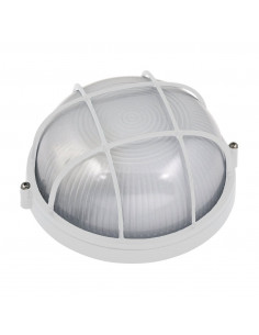 HOROZ ELECTRIC Hublot rond E27 60W 50-60hz blanc