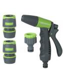 RIBIMEX Pistolet d'arrosage : kit complet d15 mm
