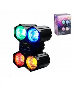 FORNORD Spot lumière disco s/4 led couleur