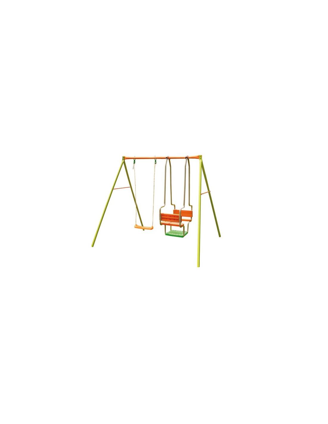 trigano amca portique 1 balan oire 1 balancelle hyper brico. Black Bedroom Furniture Sets. Home Design Ideas