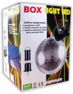 TRIGANO – AMCA Pack baf 20cm + halospot led + mab