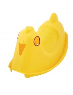 TRIGANO Bascule Enfant Oiseau jaune