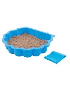 TRIGANO Bac à sable bleu