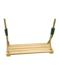 TRIGANO Siège balançoire en bois