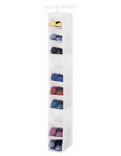 Whitmor Rangement à chaussures 10 poches
