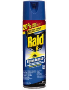 JOHNSON WAX Raid Aérosol Insectes Volants 330 ml