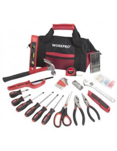 HANGZHOU GREAT Sac a outils + 40 pièces