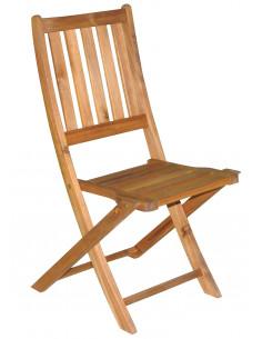 BEECHROW Chaise acacia economy