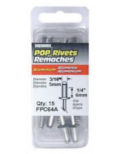 Fpc Corporation Rivets d 5mm x 15 pcs
