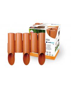 CELLFAST Rondins plastiques 0.255x2.3m couleur brique
