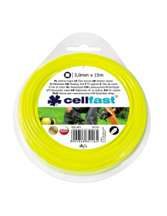 CELLFAST Fil de coupe carré 3.00mm 15m