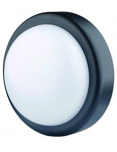 ELECTRALINE Hublot ovale LED noir 14W 1000lumens