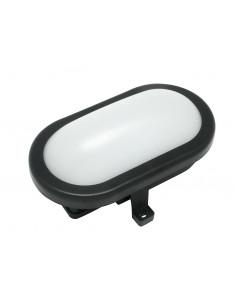 ELECTRALINE Hublot ovale LED noir 10W 700lumens
