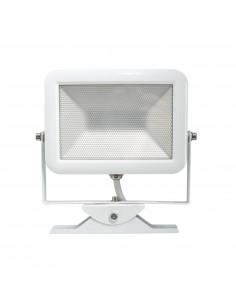 ELECTRALINE Projecteur slim LED extérieur blanc 20W IP65