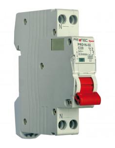 ELECTRALINE Disjoncteur PH+N 10A 3KA