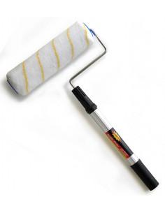 SUPERTITE rouleaux peintre 23cm + manche télescopique 66cm