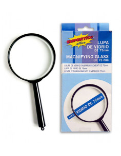 SUPERTITE Loupe de verre 75mm