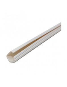 ELECTRALINE Moulure adhésive 10x10mm blanche 2m