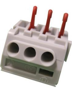 ELECTRALINE Connecteur rapide câble souple 3 trous 5 pièces 1-4mm2