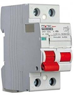 ELECTRALINE Interrupteur différentiel pour tableau électrique type AC 40A