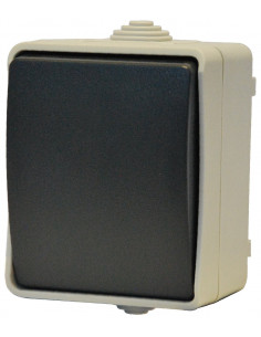 ELECTRALINE Bouton poussoir interrupteur IP54 aquatop