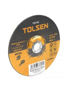 TOLSEN Disque abrasif métal